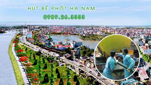 Hút bể phốt tại Hà Nam