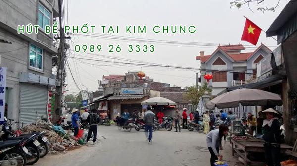 Hút bể phốt tại Kim Chung