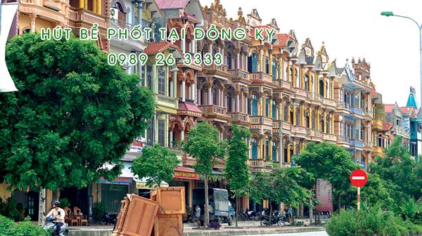 Hút bể phốt tại Đồng Kỵ