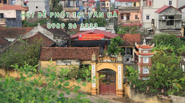 Hút bể phốt tại Vân Hà