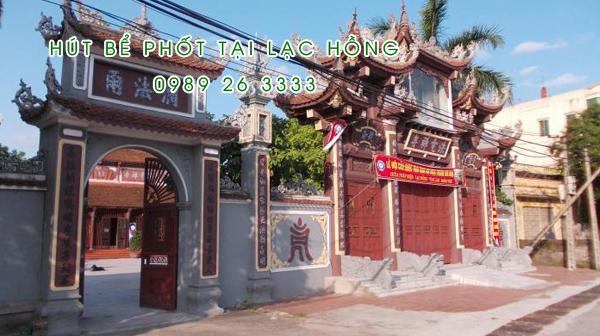 Hút bể phốt tại Lạc Hồng