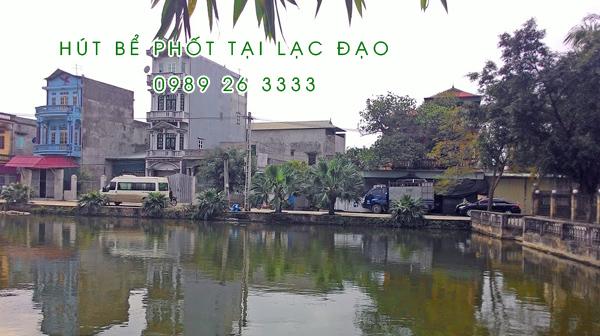 Hút bể phốt tại Xã Lạc Đạo