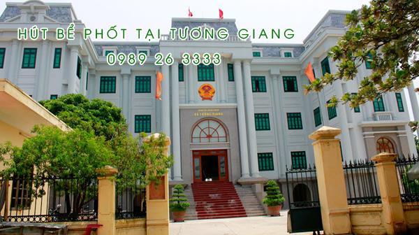 Hút bể phốt tại Tương Giang