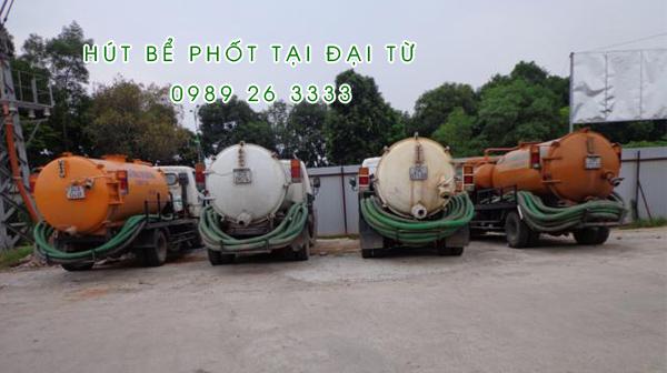 Hút bể phốt tại Xã Ký Phú giá rẻ